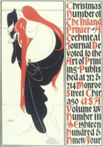 1895 12 Inland Printer Christmas Number cvr