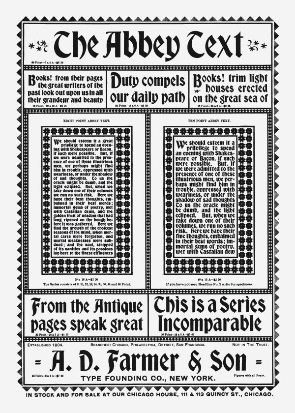 1896 Abbey Text