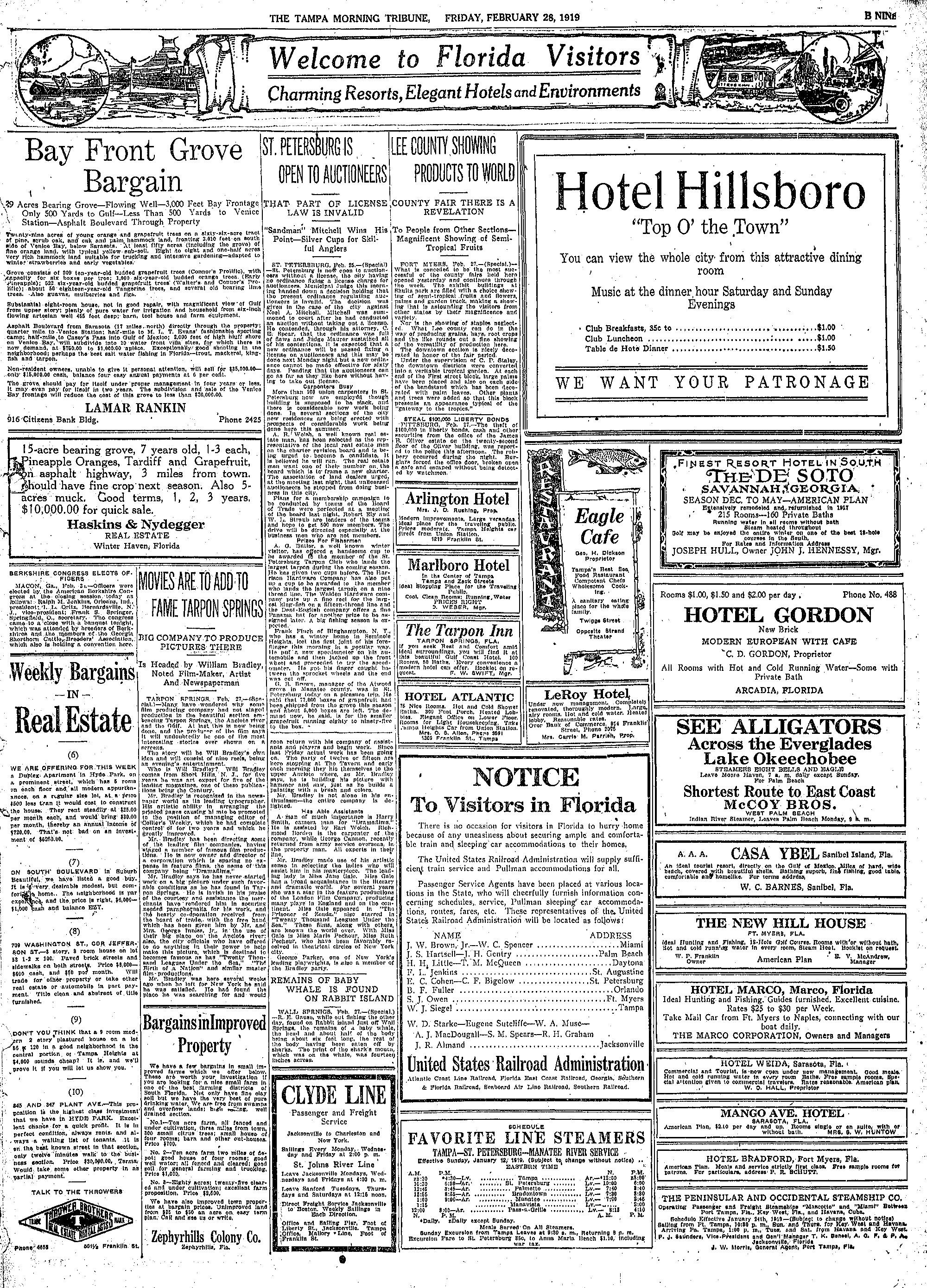 19190228 Tampa Morning Tribune