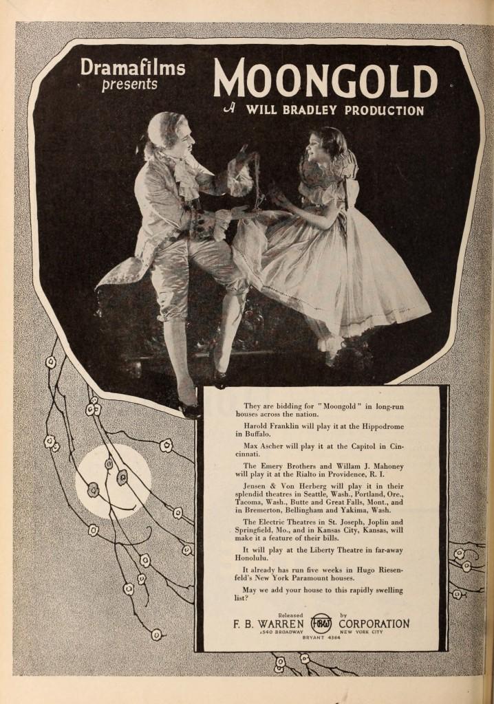 1921 Exhibitors Herald Moongold 2