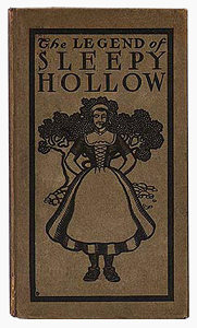 A22.1 The Legend of Sleepy Hollow cover binding