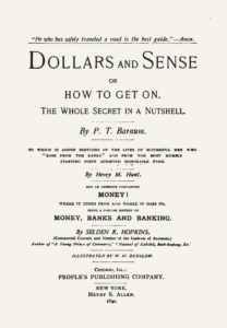 A1 Dollars and Sense title page