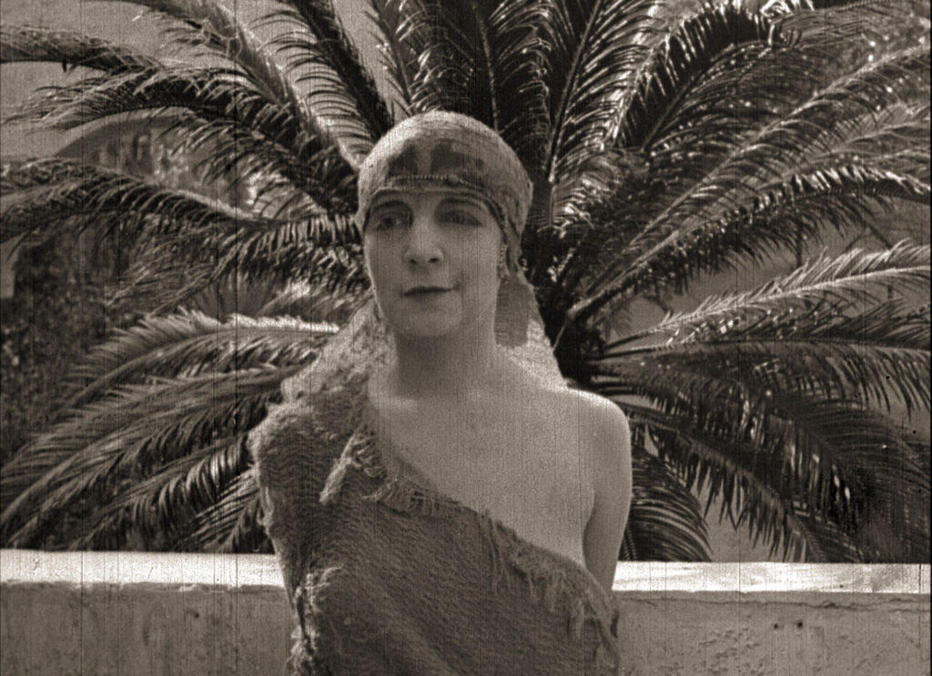 Actress Jane Gail in the silent film Bitter Fruit (1920)