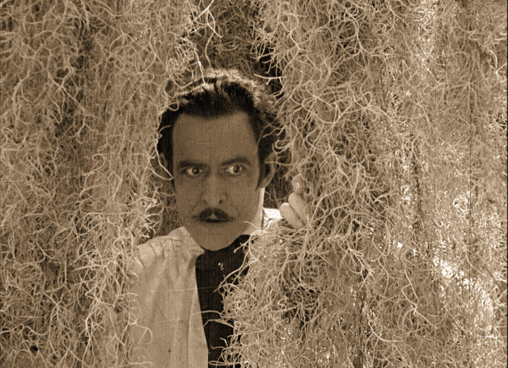 Actor John Charles as the evil Gaspard, in the silent film Bitter Fruit (1920)