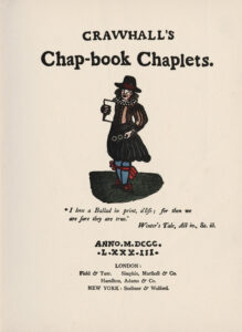 1883 Crawhall's Chap-Book Chaplets title page
